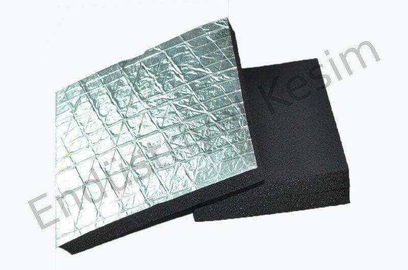 Aluminyum Folyo Kaucuk Kopugu Levha