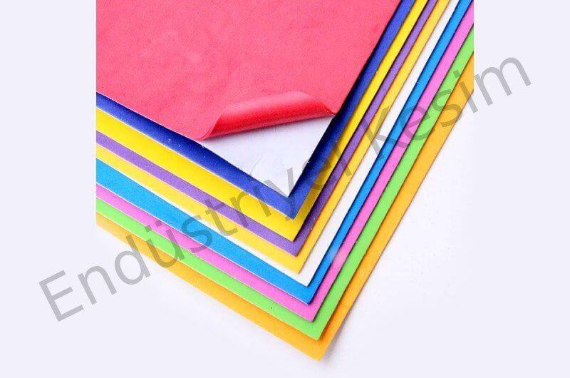 Hobi Renkli Eva Kâğıt Nedir?